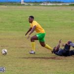 Football Devonshire Cougars vs PHC Bermuda, January 1 2017-56