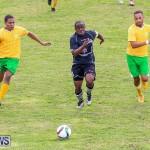 Football Devonshire Cougars vs PHC Bermuda, January 1 2017-8