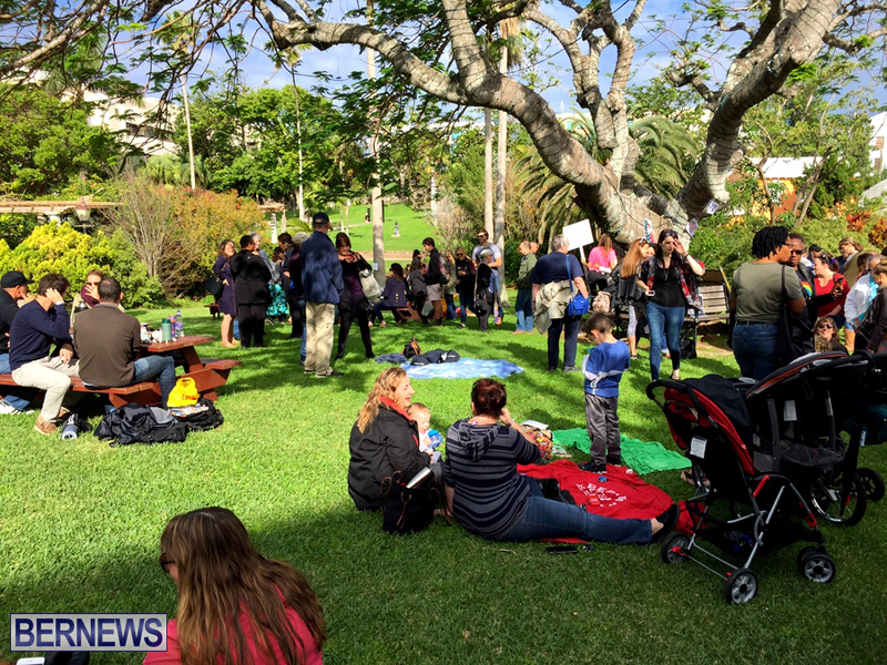 Gathering To Support Women's March Bermuda Jan 21 2017 (3)