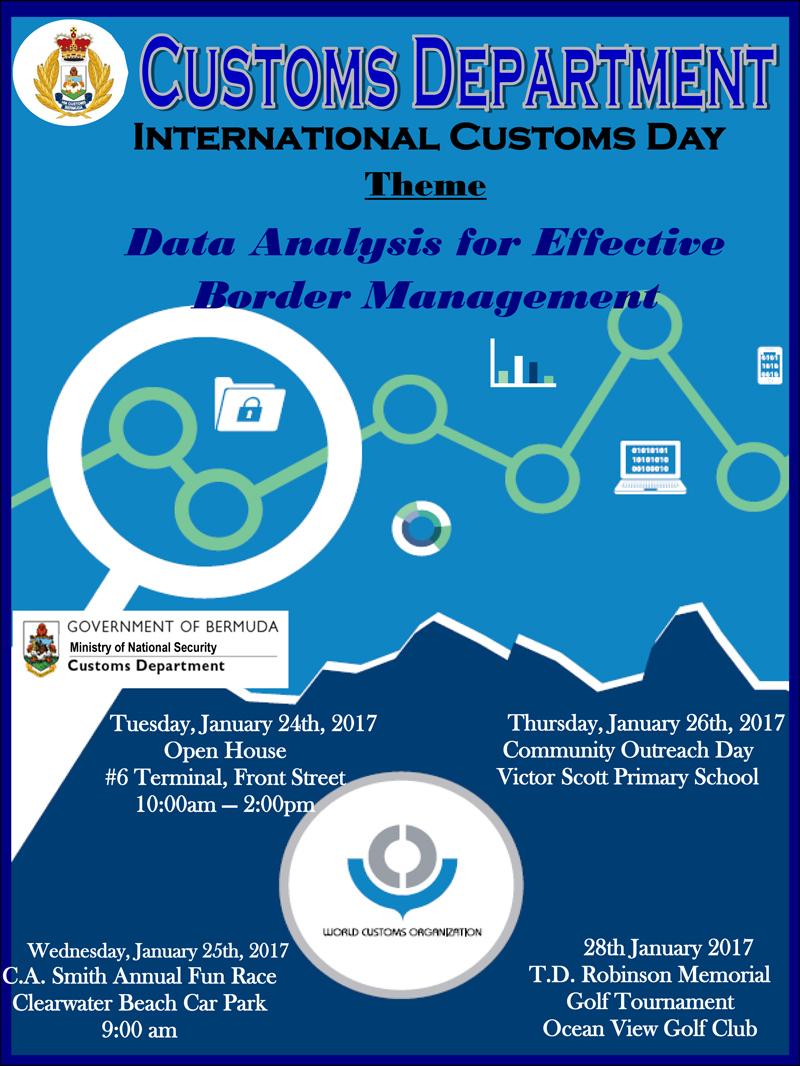 International Customs Day Bermuda January 2017