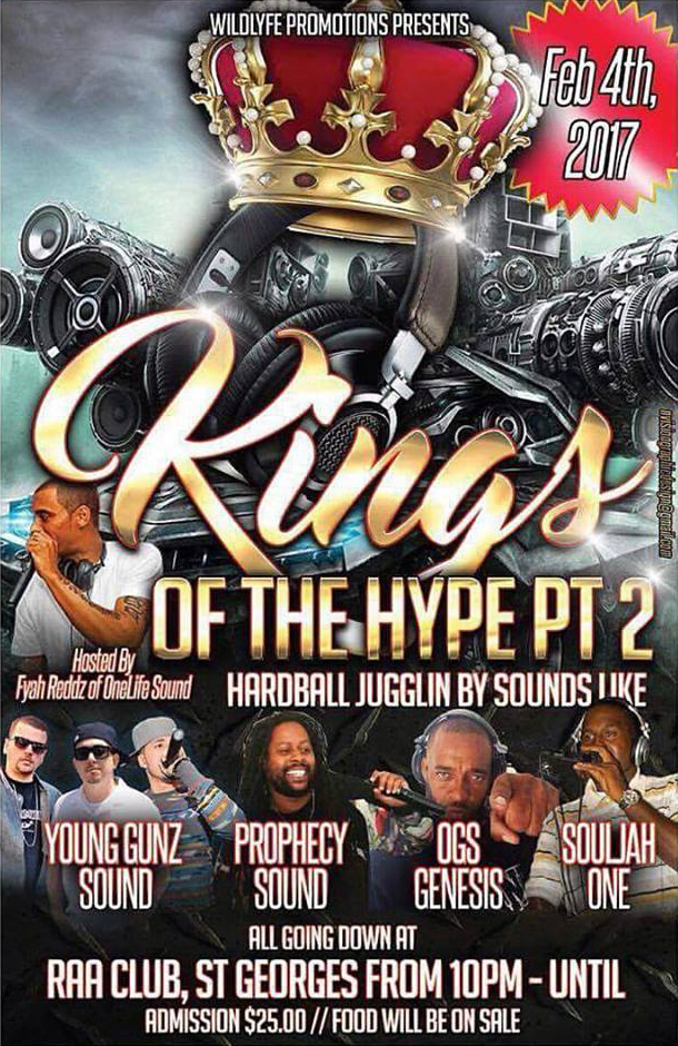 King Of The Hype Bermuda January 2017