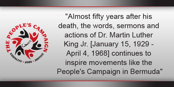 People's Campaign  TC Bermuda January 16 2016