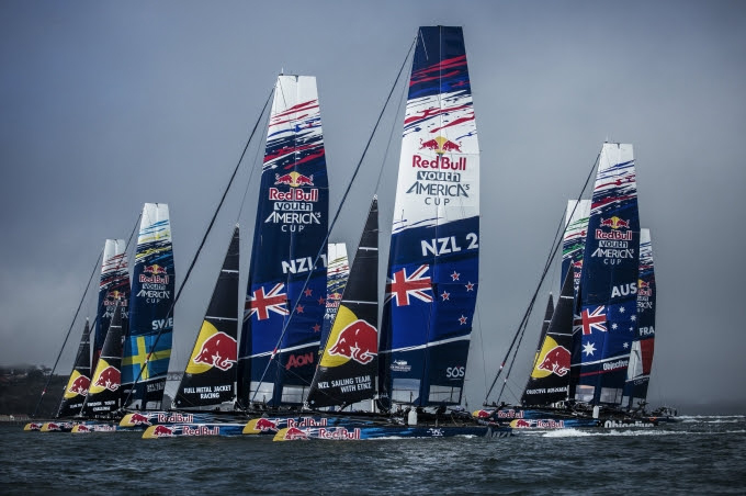 Red Bull Youth America´s Cup Bermuda January 16 2017