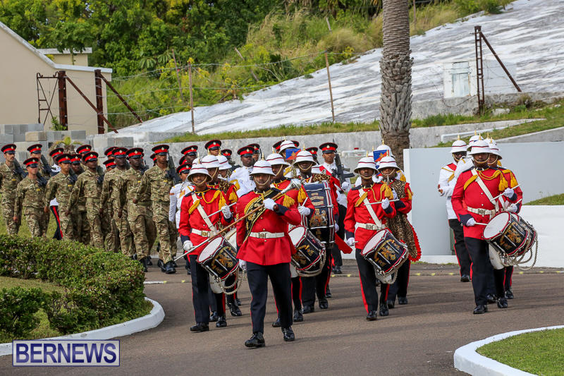 Royal Bermuda Regiment Recruit Camp Passing Out Parade, January 28 2017