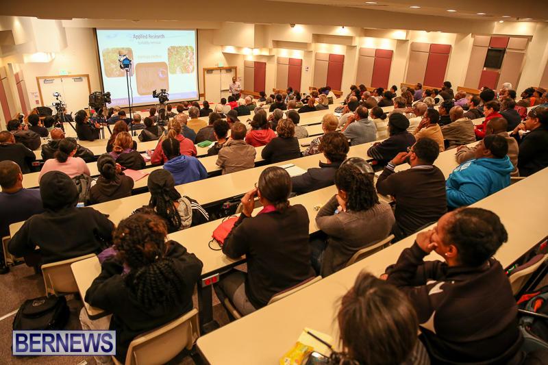 Tarik Smith Water Management College Talk Bermuda, January 25 2017-1