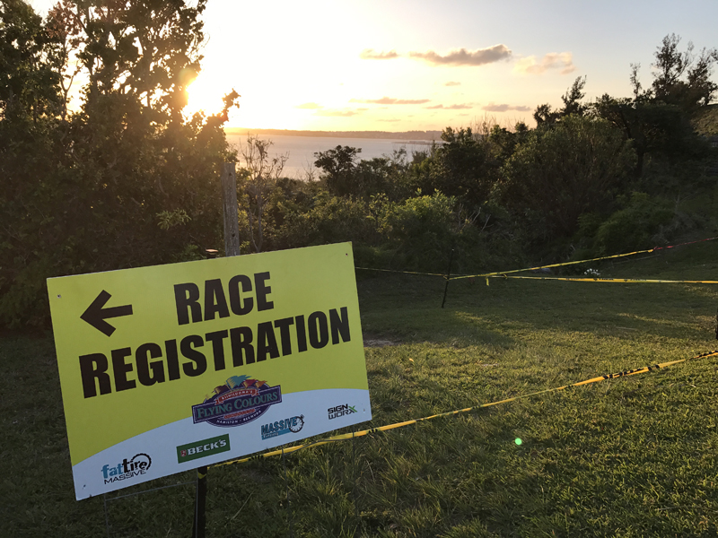 7th Race In Flying Colours Mountain Bike Series Bermuda February 12 2017