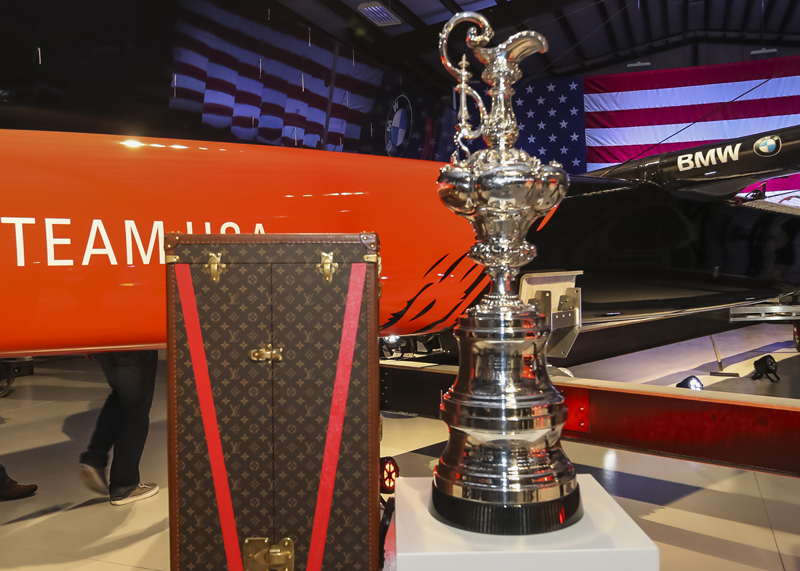 BMW Oracle Team USA Unveiling Ceremony