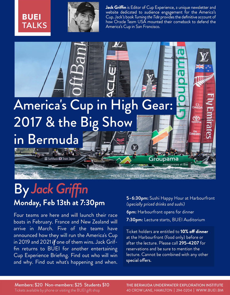 America's Cup in High Gear by Jack Griffin Bermuda February 2017