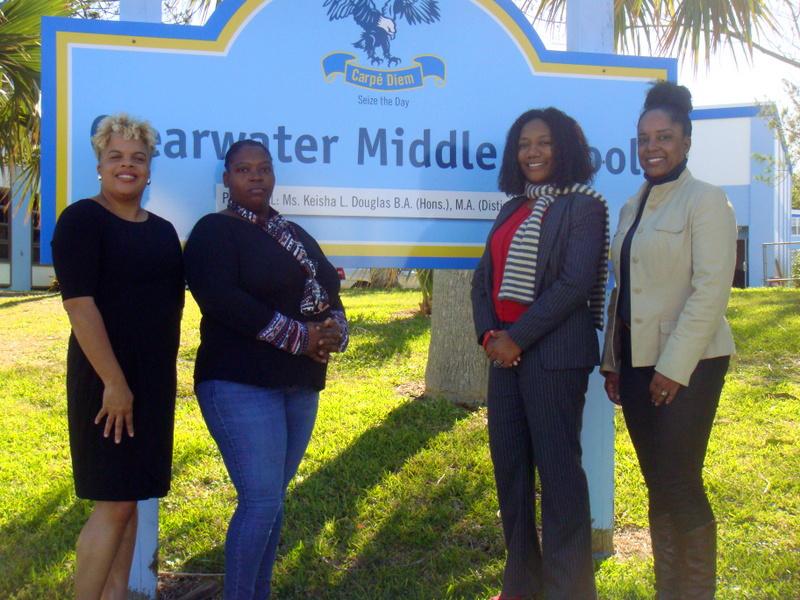 Clearwater Principal and PTSA Executives Bermuda Feb 1 2017