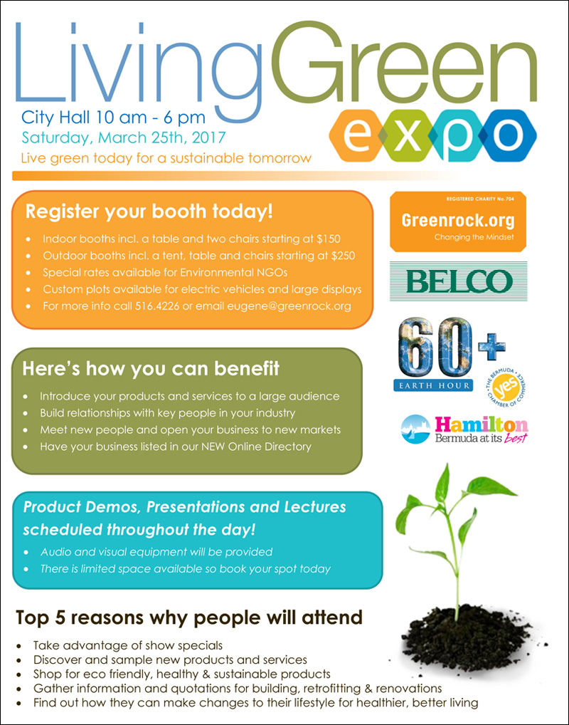 Living Green Expo Bermuda February 2017