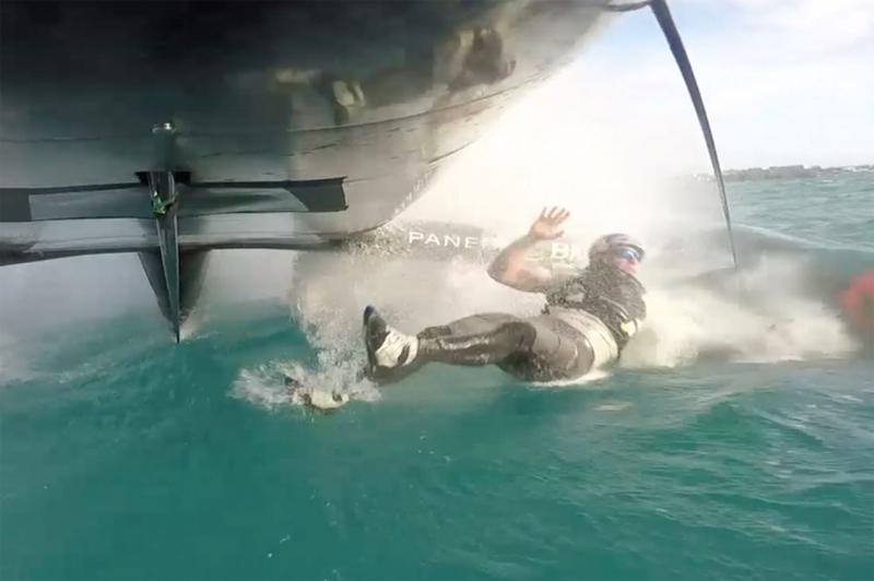 Man overboard Bermuda Feb 23 2017