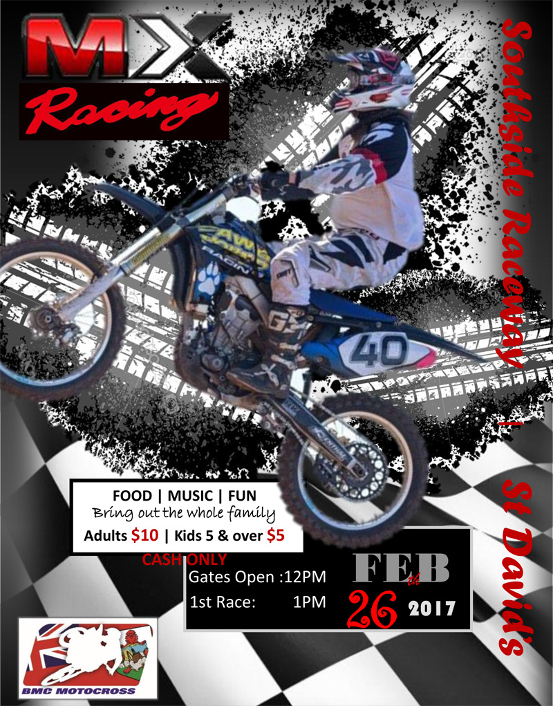 Motocross Bermuda February 2017