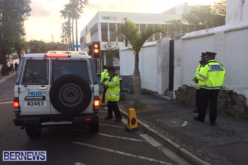 Police At House of Assembly Bermuda February 10, 2017 (10)