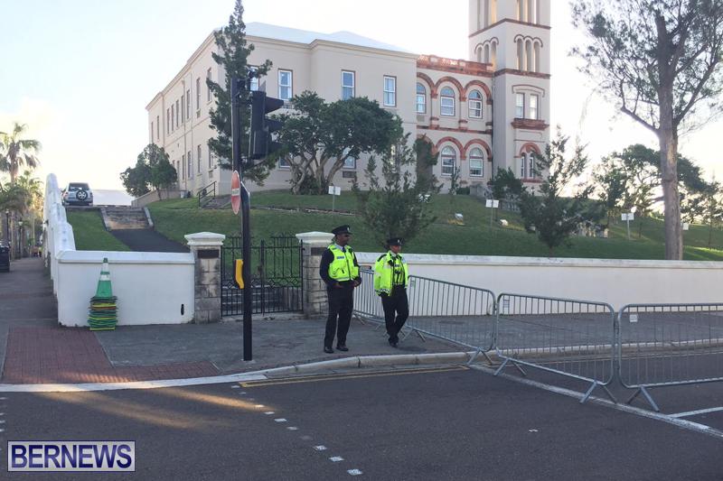 Police at House Bermuda February 3 2017 (1)