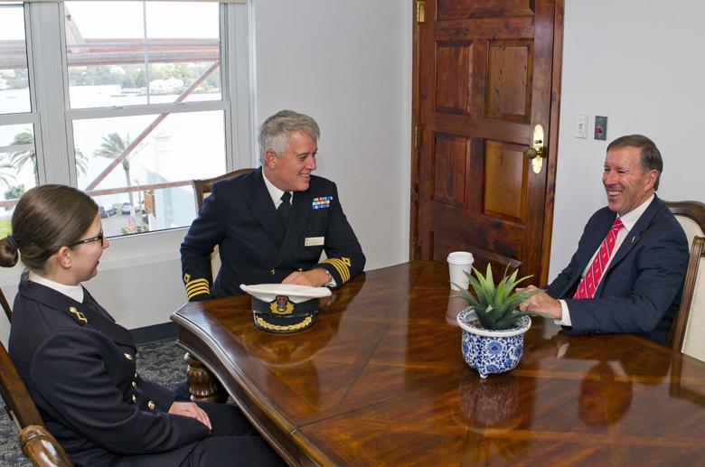 Premier Courtesy Visit Bermuda Feb 16 2017