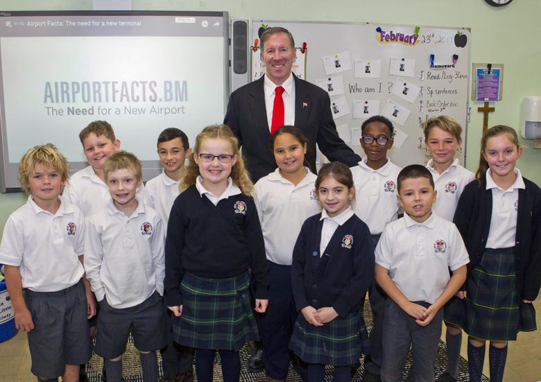 Premier Mount St Agnes Grade 3 Class Visit Bermuda Feb 23 2017 (3)
