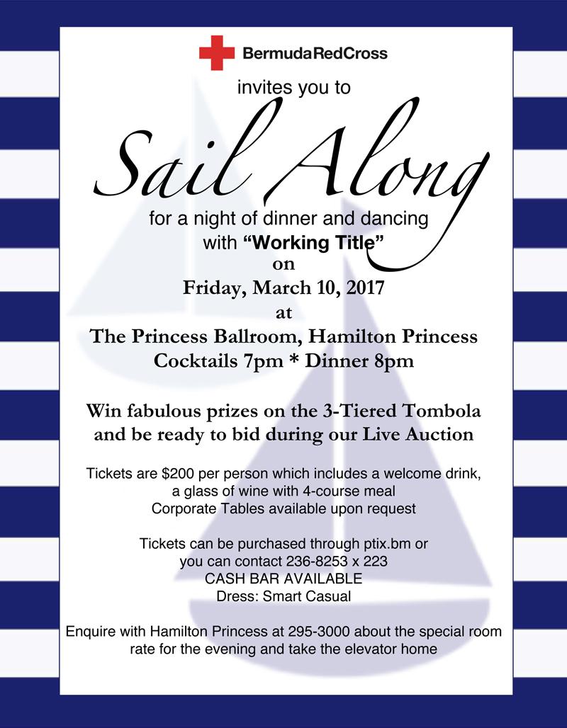 Sail away poster copy