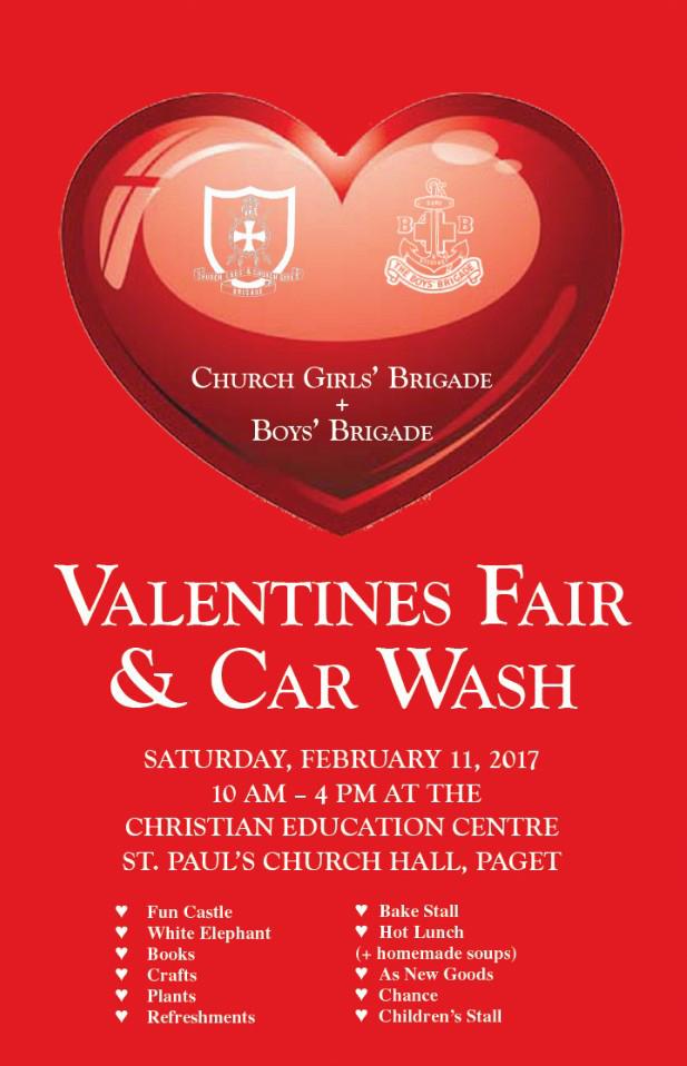 Valentines Fair and Car Wash Bermuda February 2017
