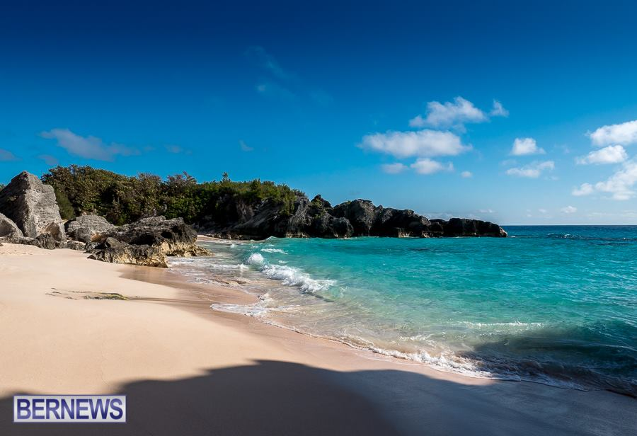 387 Nothing quite like a Bermuda beach all to yourself