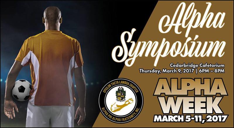 Alpha Symposium Bermuda March 2017