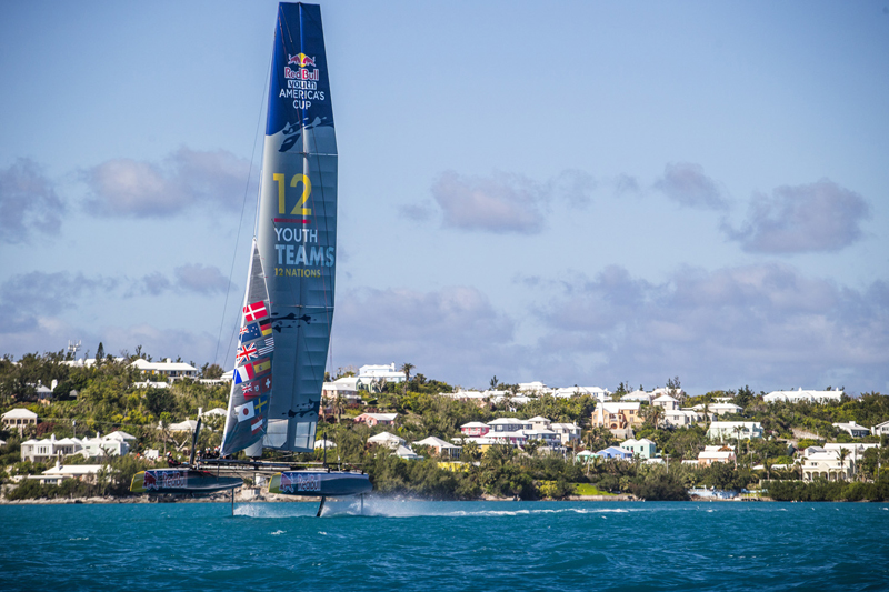 Red Bull Youth America's Cup Boat - Action