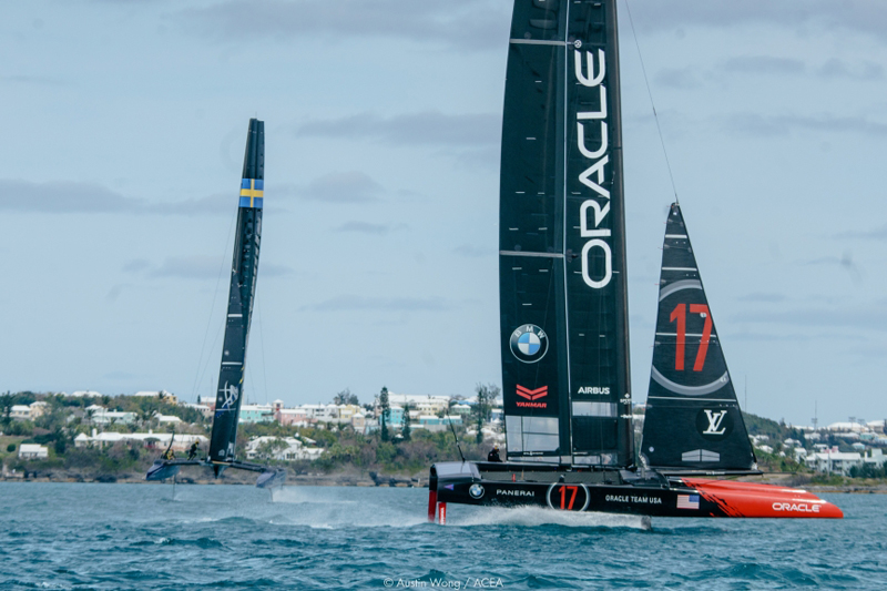 America's Cup Bermuda March 2017