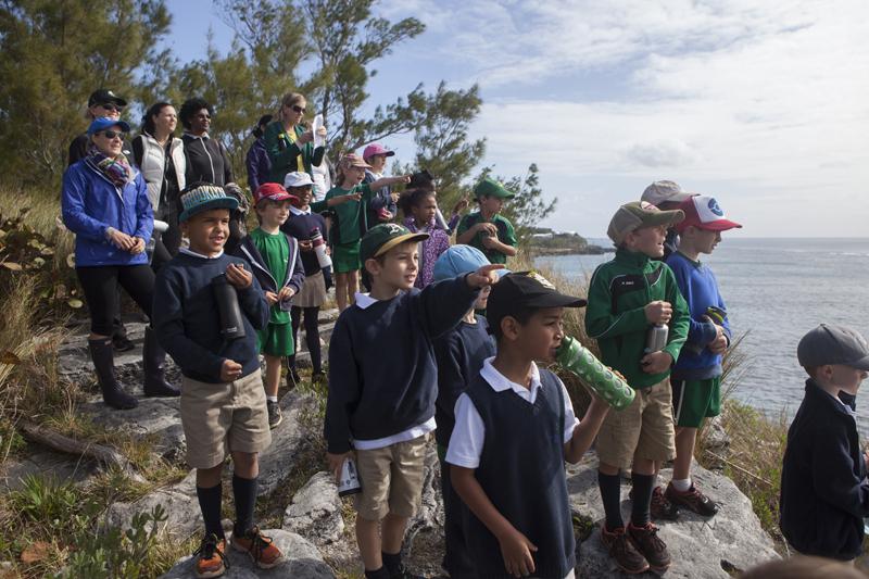BNT Childrens Nature Walk bermuda march 30 2017 (5)