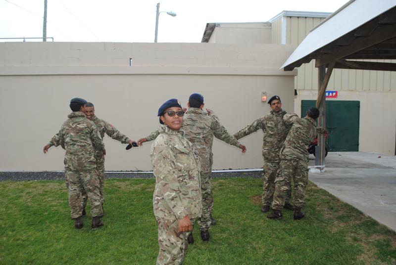 Bermuda Regiment AC35 Security Role March 2017 (1)