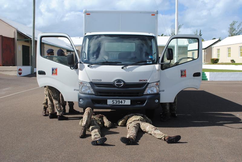 Bermuda Regiment AC35 Security Role March 2017 (2)