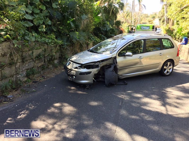 Car Collision Paget Bermuda, March 18 2017 (3)