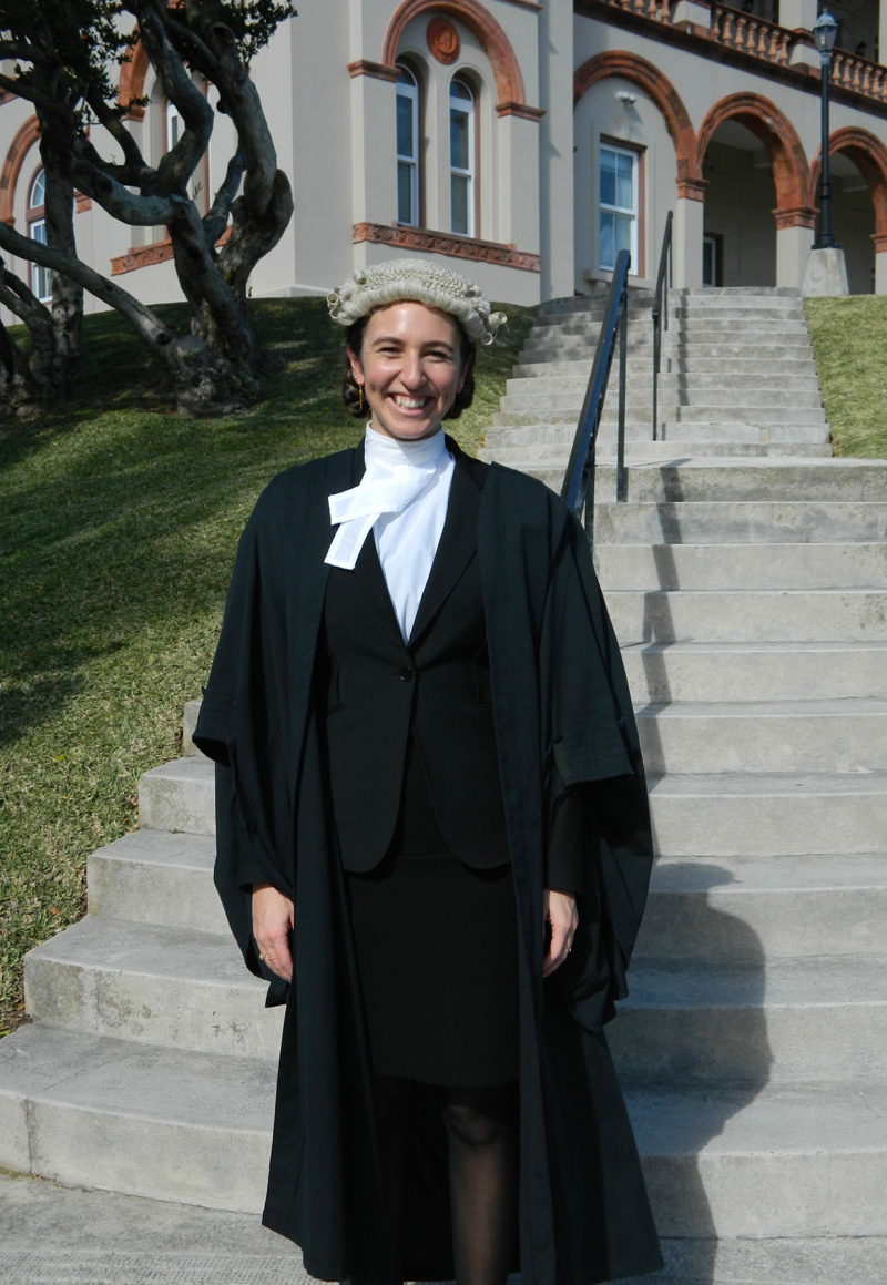 Catlin Conyers Call to Bar Bermuda March 2017