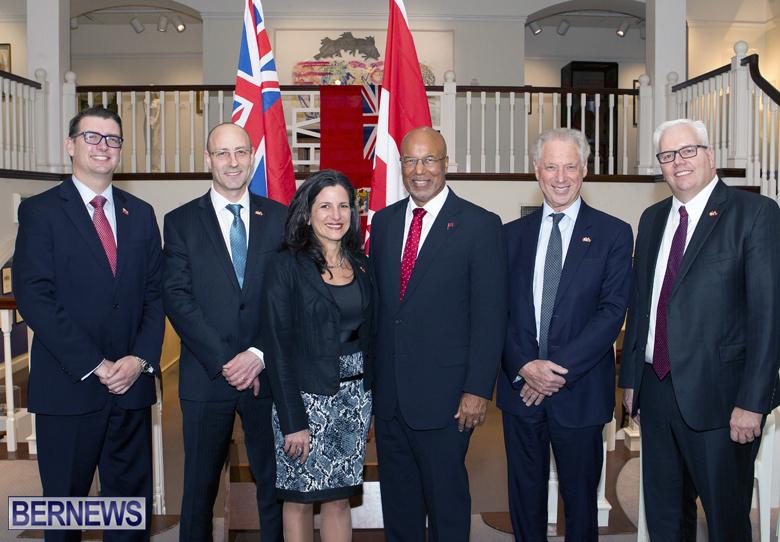Finance Minister Arp Financial Close Press Conf Bermuda March 16 2017