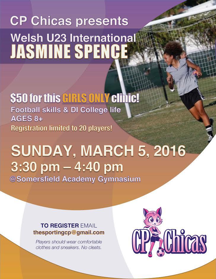 Jasmine Spence Clinic Bermuda March 2 2017