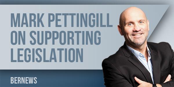 MP Mark Pettingill Live Interview supporting legislation Bermuda March 18 2017 TC