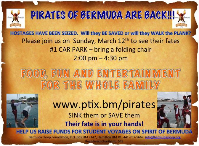 Pirates of Bermuda March 2017