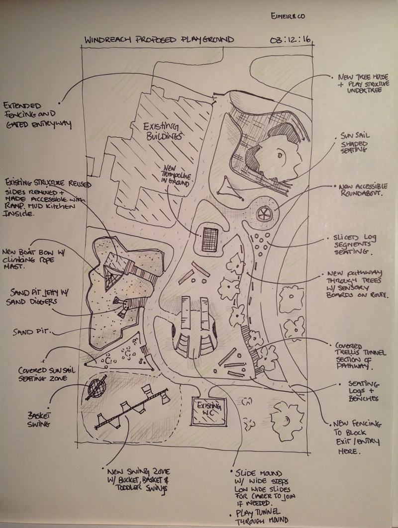 Playground drawing Bermuda March 9 2017