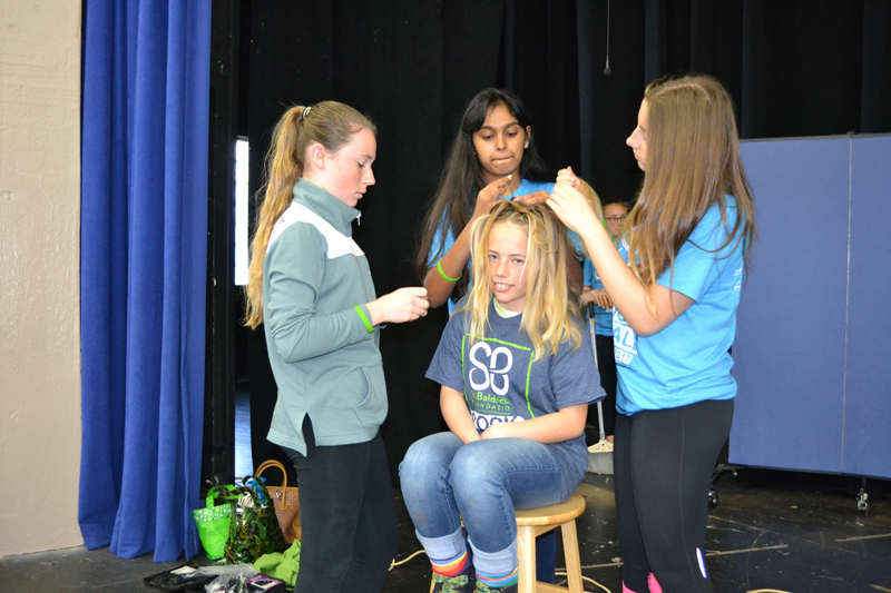 St. Baldrick's at Warwick Academy Bermuda March 17 2017 (1)