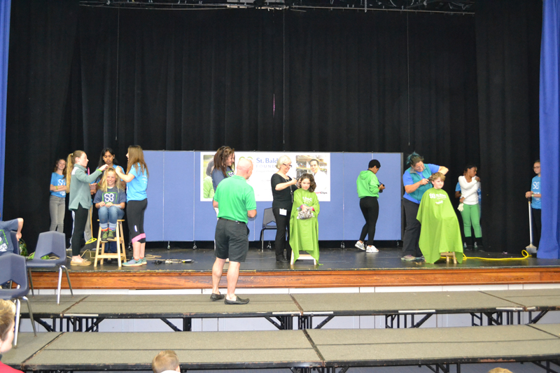 St. Baldrick's at Warwick Academy Bermuda March 17 2017 (2)