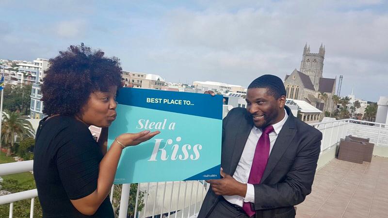 Steal a Kiss Demo Bermuda March 2 2017