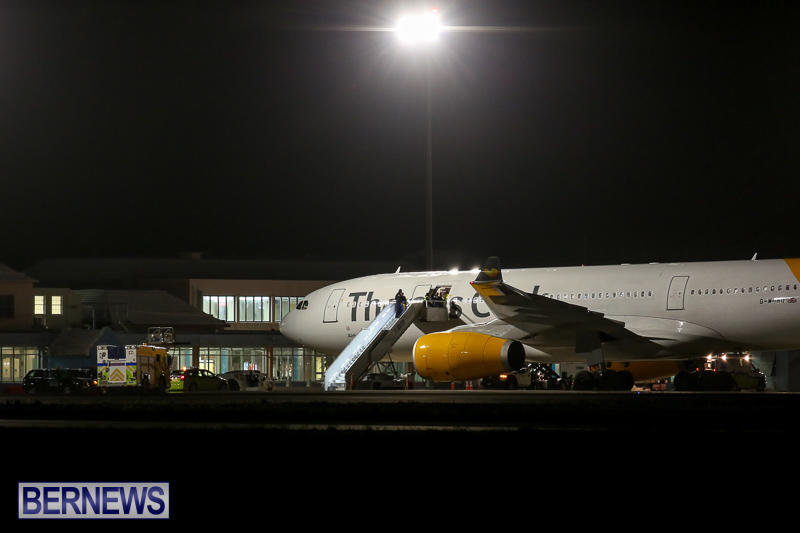 Thomas Cook Plane Medical Diversion Bermuda, March 29 2017-2