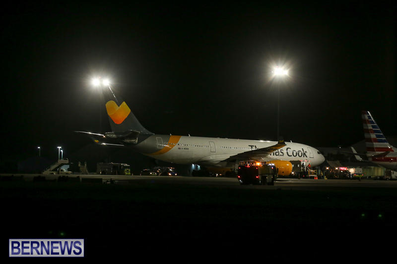 Thomas Cook Plane Medical Diversion Bermuda, March 29 2017-3