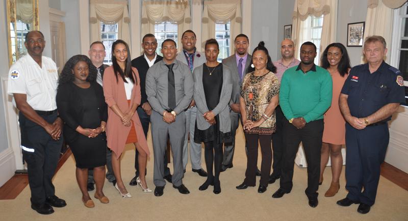 Twelve Graduate as EMTs Bermuda March 20 2017
