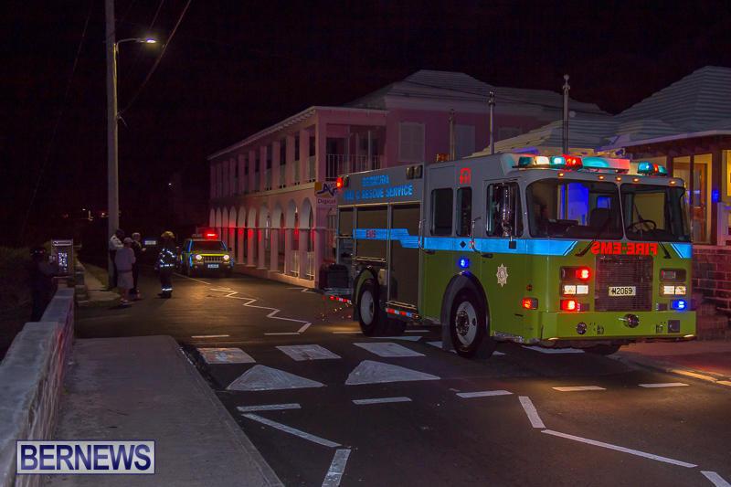 Village Cafe Fire Bermuda, March 13 2017-1