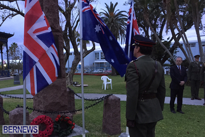 Bermuda ANZAC Day Service April 25 2017 (2)
