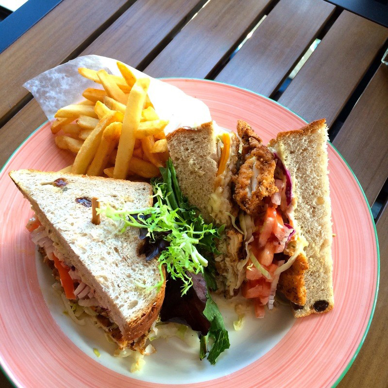 Fish sandwich Bermuda April 2017
