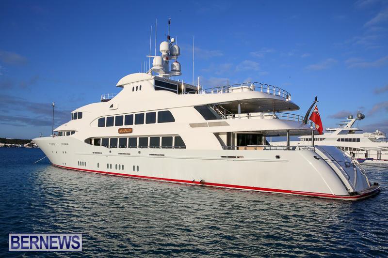 Mia Elise II Superyacht Bermuda, April 23 2017-1