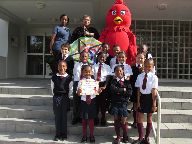 Northlands Primary w Bird Bermuda April 12 2017