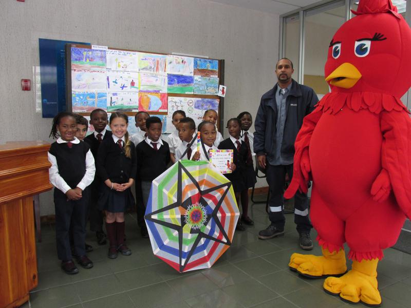 Northlands Primary w Corrie Dillas and Bird Bermuda April 12 2017