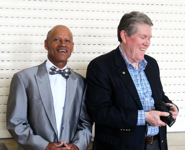 Seniors Tea Mr. Alpheus Santucci & Mr. John Barritt Bermuda April 13 2017 (3)