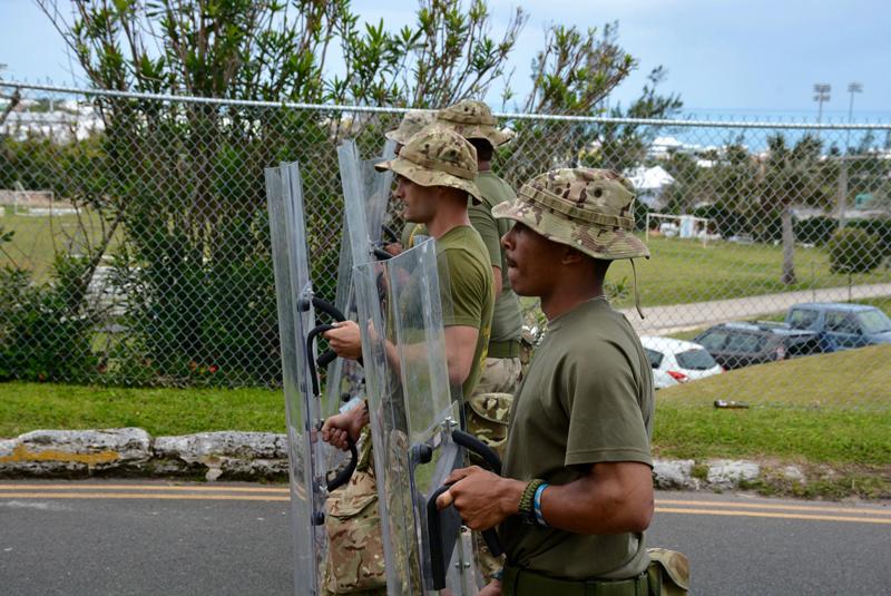 Shield Base Bermuda April 10 2017